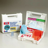 Bloodborne Pathogen Personal Protection Kit with Microshield. Shop Now!