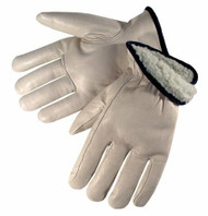 Leather Cowhide Driver Gloves Winter Pile Lined Premium Grade. Shop Now!