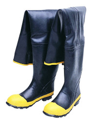 Black Hip wader PVC Boots. Shop Now!