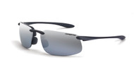 Crossfire ES4 Silver Mirror Polarized Lens Crystal Black Frame. Shop Now!