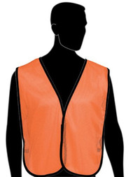 Orange Traffic Safety Vest-Universal Size. Shop Now!