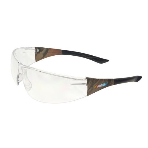 Encon 14271074 NASCAR®427™ Camo Frame, Clear Lens Safety Glasses