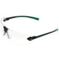Encon 08204904 Veratti® 429™ Black-Green Frame, Clear Lens Safety Glasses. Shop now!