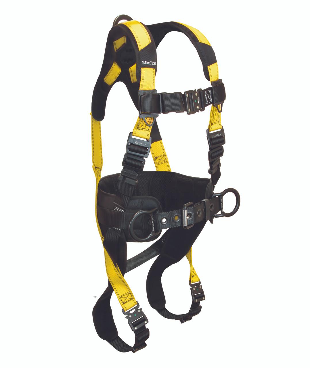Falltech 7035BQC Journeyman Flex 3‐D Full Harness