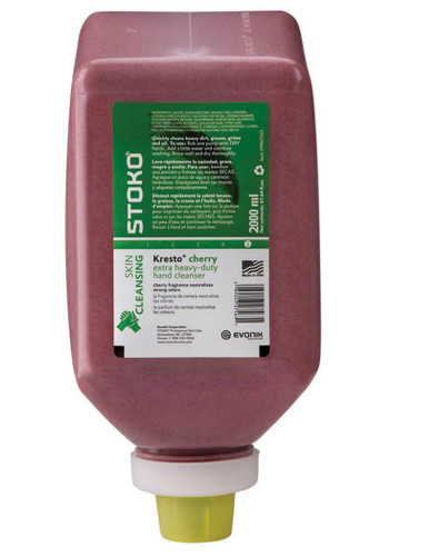 Stoko 99027563 Kresto Cherry 2000ml Softbottle Heavy Duty Hand Cleanser. Shop now!