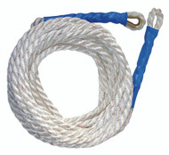 "FallTech Vertical Lifeline - 5/8"" Premium Polyester Rope Thimble & Braid-End. Shop Now!"