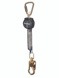 FallTech 72706SB2 6' Mini SRD Single-Leg Steel Carabiner/Swivel Snap Hook. Shop Now!