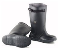 Onguard 86050 17 Inch Slicker  Black Overboot w/ Strap Self-Cleaning Cleated Outsole. Shop now!