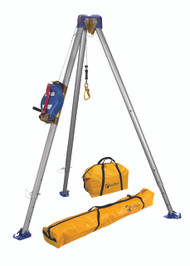 FallTech 7500S Confined Space Tripod Kit - Stainless Steel Cable. Shop Now!