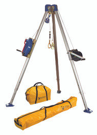 FallTech 7504S Confined Space Tripod Kit - Stainless Steel Cable. Shop Now!