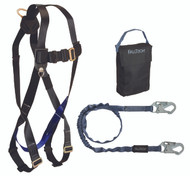 FallTech 9010CP Starter Kit - Harness, SAL, Gearbag. Shop Now!