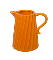Ceramic Jug Orange