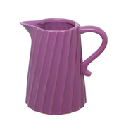 Ceramic Jug Purple