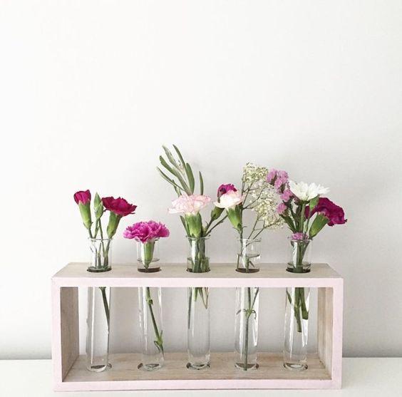 Multi Pack Test Tube Vase Ggs Flowers
