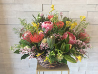 Native basket arrangement - FREE DELIVERY