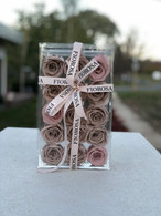 Luxury preserved roses - 15 roses - FREE DELIVERY