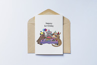 Aussie Animal Birthday Card