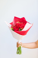 One red dozen roses - FREE DELIVERY