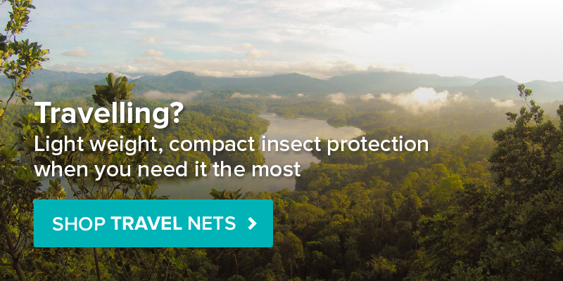 Travelling? View our Travel Mosquito Nets