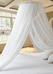 Round silk mosquito net