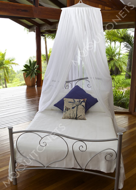 Mosquito Net. Cotton. Classic. Double / Single - mosquitonets.com.au