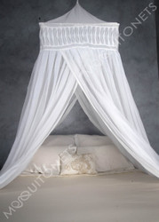 Cotton temple mosquito net