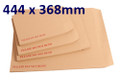 Board Backed Envelope Manilla 444x368mm - boxed 100