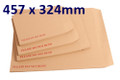 Board Backed Envelope Manilla C3 457x324mm - boxed 100