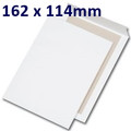 Board Backed Envelope White C6 162x114mm - boxed 250