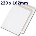Board Backed Envelope White C5 229x162mm - boxed 125
