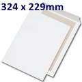 Board Backed Envelope White C4 324x229mm - boxed 125