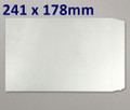 All Board Pocket White 241x178mm - boxed 200