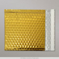Gold Metallic Bubble Bag 165x165mm - boxed 100