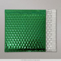 Green Metallic Bubble Bag 165x165mm - boxed 100