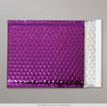 Purple Metallic Bubble Bag 165x165mm - boxed 100