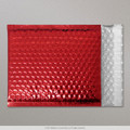 Red Metallic Bubble Bag 324x230mm - boxed 100
