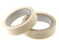 General Purpose Paper Masking Tape 25mm x 50m - packed 3 rolls