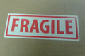 BULK BUY Printed Label FRAGILE 150x50mm - packed 500