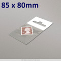 85x80mm Clear Cello Bag with Header - packed 100