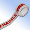 Fragile Printed Tape 48mm x 66m - ONE ROLL