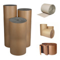 Corrugated Paper Roll 1200mm x 75m - per roll
