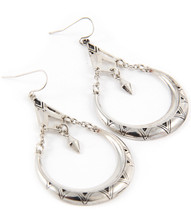 Earrings E 0008 SLV