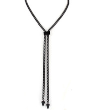 Necklace N 12113 BLK