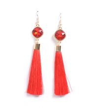 Earrings E 2171 RED