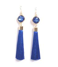 Earrings E 2171 BLU