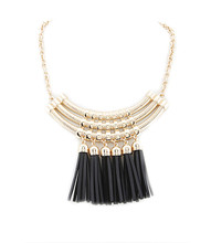 Necklace N 1840 GLD BLK