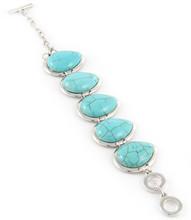 Bracelet  B 500014 SLV TURQ