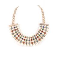Necklace N 74 GLD MLT