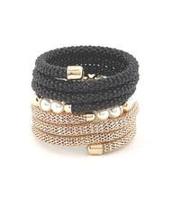 Bracelet  B 2796 GLD BLK