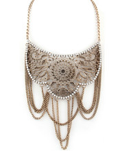 Necklace  N 1060 GLD CLR